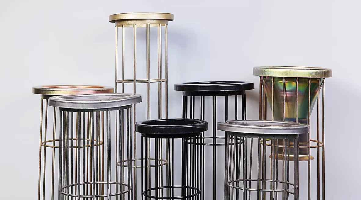 galvanized filter cage dust collector cage
